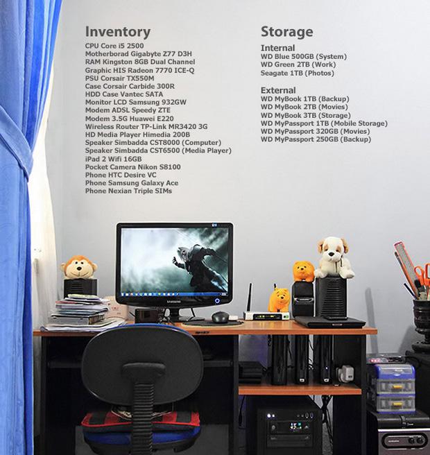 My Tiny Workspace