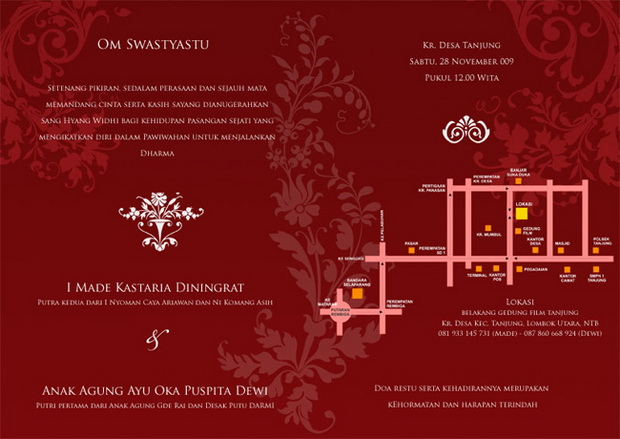Puspita's Wedding Invitation