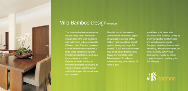 Villa Bambo Investment e-Brochure
